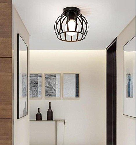 retro vintage deckenlampe deckenstrahler industrie metal antiquit ten innen beleuchtung kreative. Black Bedroom Furniture Sets. Home Design Ideas