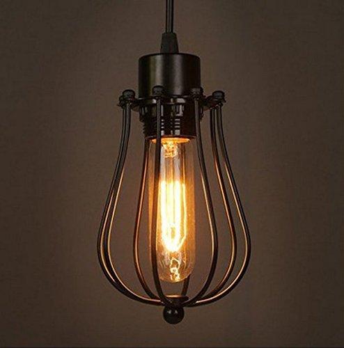 Retro Vintage Hängeleuchte Pendelleuchte Deckenbeleuchtung E27 ...