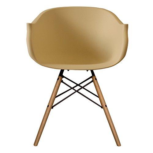 stil innen m bel scandi retro eiffelturm stil sessel mit kunststoff badewanne sitz in 12 farben. Black Bedroom Furniture Sets. Home Design Ideas