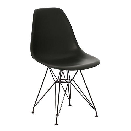 stuhl ims metall schwarz mehr farben sklum retro stuhl. Black Bedroom Furniture Sets. Home Design Ideas