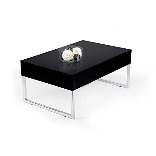 mobilifiver evo xl couchtisch holz schwarz hochglanz 90. Black Bedroom Furniture Sets. Home Design Ideas