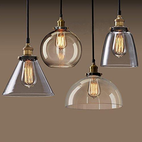 Lightsjoy Vintage Lampen Industrie Hangeleuchte Vintage Glas
