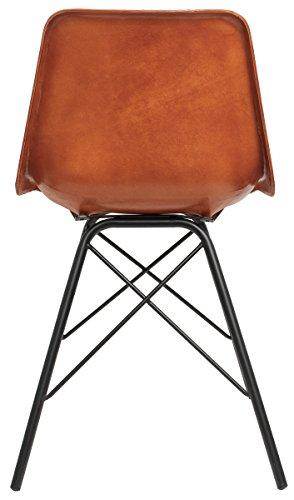 gusti stuhl wohnzimmerstuhl b rostuhl leder echtleder. Black Bedroom Furniture Sets. Home Design Ideas