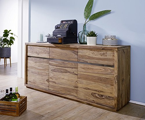 Main Möbel Sideboard 175cm Panama Sheesham Massiv