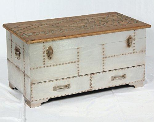 Phoenixarts Vintage Truhe Industrie Design Lowboard Retro Sideboard