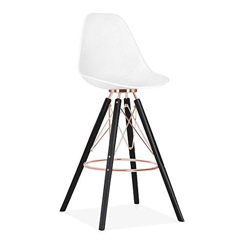 cult design moda barhocker mit r ckenlehne cd3 wei retro stuhl. Black Bedroom Furniture Sets. Home Design Ideas