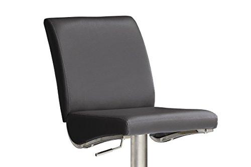 Robas lund stuhl barstuhl barhocker 360 grad for Barhocker leder schwarz edelstahl