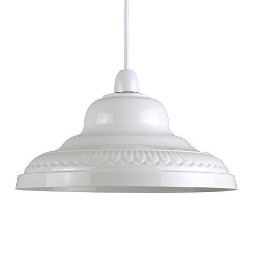 MiniSun – Schöner und Retro Lampenschirm aus Metall – für Hänge- und Pendelleuchte