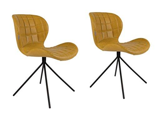 Zuiver OMG Stühle Kunstleder
