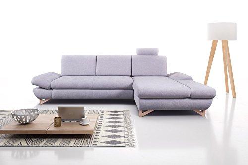 mb moebel ecksofa eckcouch mit bettk sten mit schlaffunktion soft couch wohnlandschaft l form. Black Bedroom Furniture Sets. Home Design Ideas