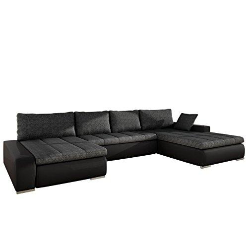 gro es design ecksofa caro elegante u form couch eckcouch mit bettkasten und schlaffunktion. Black Bedroom Furniture Sets. Home Design Ideas