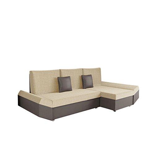 ecksofa mit ottomane und schlaffunktion mirjan24 ecksofa moric eckcouch sofa mit schlaffunktion