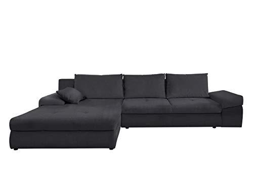 Mirjan24  Ecksofa Nobel mit Bettkasten und Schlaffunktion, Eckcouch, Schlafsofa, L-Form Couch, Ottomane Universal, Polsterecke, Wohnlandschaft, Couchgarnitur (Inari 95)