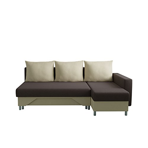 mirjan24 ecksofa tom sofa eckcouch couch mit zwei bettkasten und schlaffunktion funktionssofa. Black Bedroom Furniture Sets. Home Design Ideas