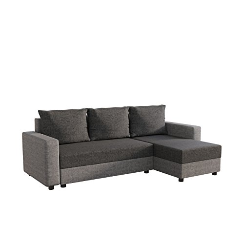 mirjan24 ecksofa vibo eckcouch sofa mit bettkasten und. Black Bedroom Furniture Sets. Home Design Ideas