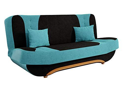 mirjan24 sofa pinto mit bettkasten und schlaffunktion. Black Bedroom Furniture Sets. Home Design Ideas