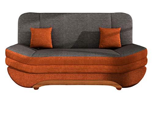 mirjan24 sofa weronika mit bettkasten und schlaffunktion schlafsofa gro e farb und. Black Bedroom Furniture Sets. Home Design Ideas