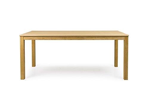 Tenzo 3580-054 Fresh Designer Esstisch Holz, eiche, 90 x 180 x 75 cm