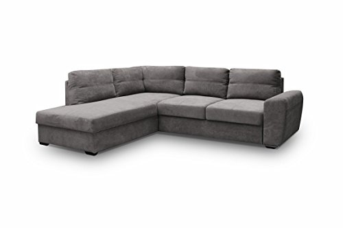 ecksofa sofa eckcouch couch mit schlaffunktion und. Black Bedroom Furniture Sets. Home Design Ideas