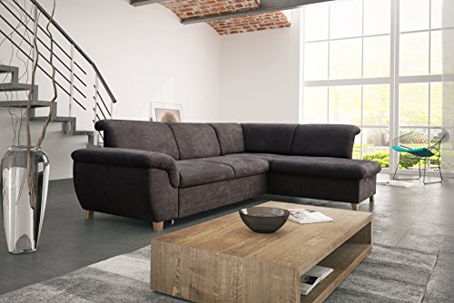 mb moebel ecksofa eckcouch mit bettkasten sofa couch l. Black Bedroom Furniture Sets. Home Design Ideas
