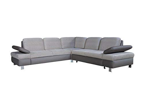 mb moebel ecksofa mit schlaffunktion eckcouch mit. Black Bedroom Furniture Sets. Home Design Ideas