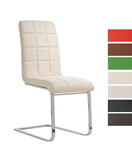clp freischwinger emily mit hochwertiger polsterung und kunstlederbezug i ergonomischer. Black Bedroom Furniture Sets. Home Design Ideas