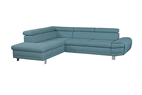 Cavadore Sofa Marool mit Kopfteilverstellung/Großes Sofa im Modernen Design