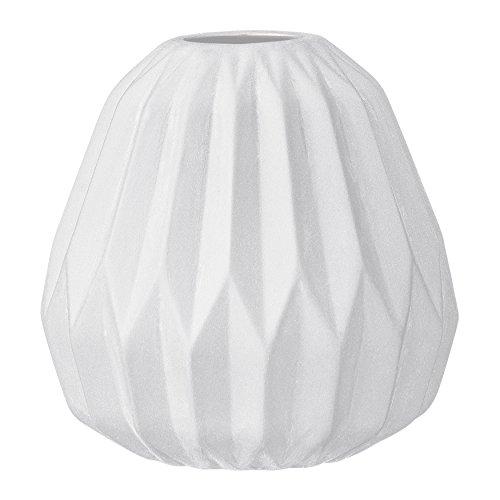 Bloomingville Keramikvase, klein, Weiß